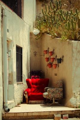ソファ,屋外,隙間,屋外家具